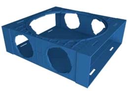 moduł bazowy kanału wentylacyjnego Ventiflex