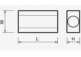 moduł segmentowy - rysunek