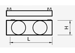 dekiel z otworami Ventiflex